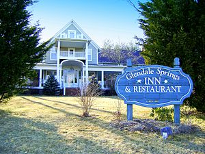National Register of Historic Places listings in Ashe County, North Carolina - Image: Glendale Springs Inn