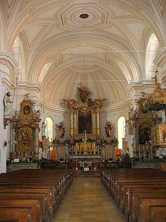 Gmund am Tegernsee - Image: Gmund Sankt Aegidius