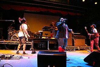 Gnarls Barkley - Gnarls Barkley at the Mini V festival in Melbourne, 2007