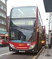 Go-Ahead London- London Central - Dennis Trident 2-Alexander Dennis Enviro400 - E110 LX09FBA - Route 68 (16593917522).jpg