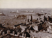 Golconda Tombs from Fort, 1902-03