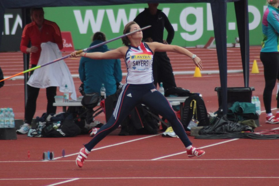Goldie Sayers, New UK record