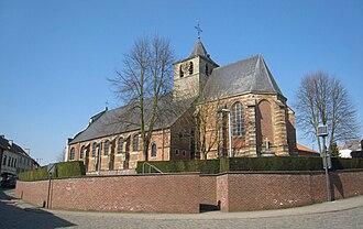 Gooik - Church in the centre of Gooik