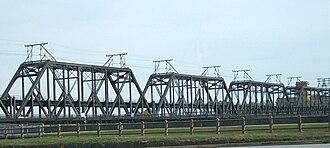 Government Bridge - Government Bridge connecting Davenport, Iowa and Rock Island, Illinois