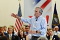 Governor of Florida Jeb Bush at TurboCam, Barrington, New Hampshire on August 41th by Michael Vadon.jpg