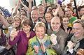 Grüne Landtagswahlparty 2012 mit Spitzenkandidatin Sylvia Löhrmann und Cem Özdemir.jpg