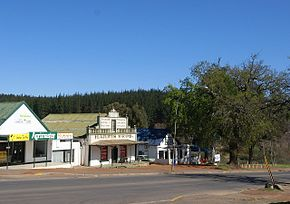 Old buildings on the outskirts of Grabouw