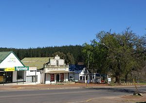 Elgin, Western Cape - Old buildings on the outskirts of Grabouw
