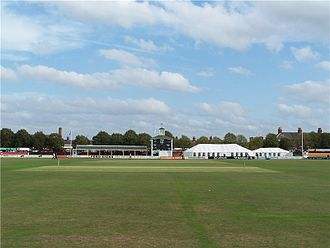 Leicestershire County Cricket Club - Grace Road cricket ground, Leicester.