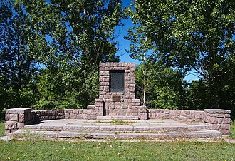 National Register of Historic Places listings in Big Stone County, Minnesota - Image: Graceville Historical Marker