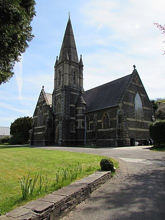 Tonna, Neath - Image: Grade II listed St Anne's Church, Tonna geograph.org.uk 4942356