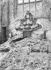 grafmonument gebroeders evertsen na de verwoesting van de kerk - middelburg - 20154560 - rce