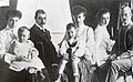 Grand Duchess Anstasia Mikahilovna of Russia with her family.JPG