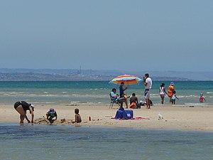 Grange, South Australia - Grange Beach in summer