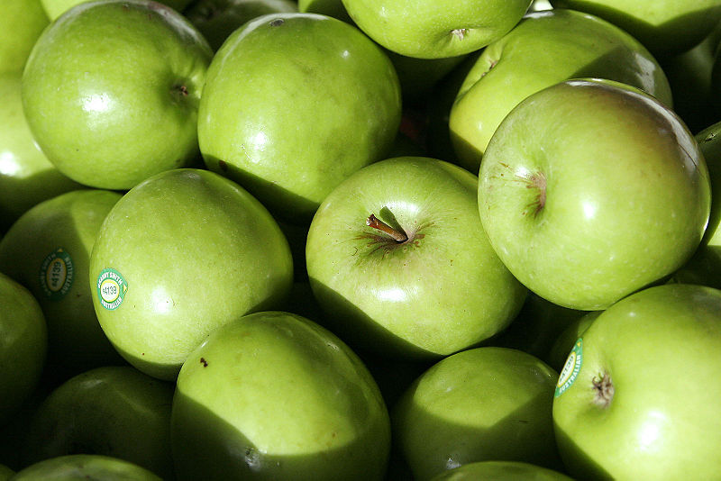 Bestand:Granny smith apples.jpg