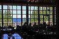 Grant Village, view from inside the restaurant (9395697070).jpg