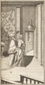 """Gravyr på kardinal Azzolino och drottning Kristina i boken """"Het leven en bedryf van Christina"""" - Skoklosters slott - 91442.tif"""