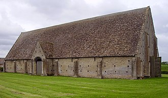 Walter Horn - Great Coxwell Barn was one of two Cistercian structures studied by Horn and Ernest Born for their first book