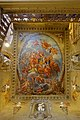 Great Staircase, Triumph of Semele, ceiling painted by Antonio Verrio, 1691, Chatsworth House - Derbyshire, England - DSC03132.jpg
