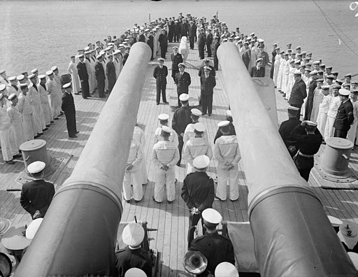 Greek Independence Day in the Greek Navy. 23 February 1943, Port-said, Greek Independence Day, March 25; Will Be Widely Celebrated. Sailors Serving in the Greek Section of the Allied Navies Always Remember That A15184