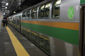 Green Car in the JR line (6203643747).png