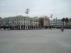 "Martyrs' Square, Tripoli - The Martyrs' Square (then known as ""Green Square"") in 2007"