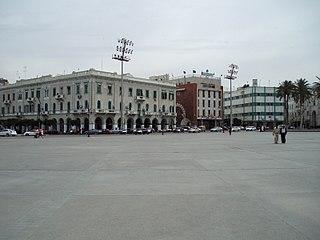 Martyrs Square, Tripoli square in Tripoli, Libya