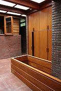 Gregor Affleck House entry - FLW, Architect - Bloomfield Hills MI built in 1940 (291332987).jpg
