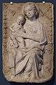 Gregorio di lorenzo, madonna col bambino su delfini, 1450-1500 ca.jpg