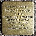 Grevenmacher, Stolperstein 02 Raphael Cahen.jpg