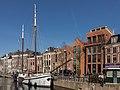 Groningen, straatzicht Hoge der Aa bij de Brugstraat foto7 2015-03-22 15.15.jpg