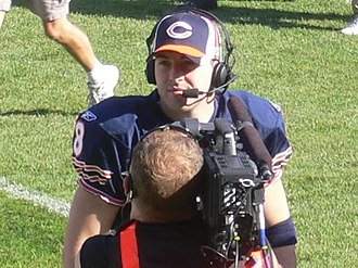 Rex Grossman - Grossman in a post-game interview in 2006