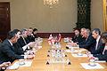 Gruzijas parlamenta priekšsēdētājs tiekas ar Latvijas Valsts prezidentu Andri Bērziņu (10688321925).jpg
