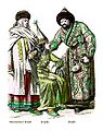 Guberniya of Tomsk, Kirghiz Woman and Man.JPG