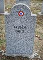 GuentherZ 2013-01-12 0302 Wien11 Zentralfriedhof Gruppe88 Soldatenfriedhof franzoesisch WK2 Baudot Emilie.JPG