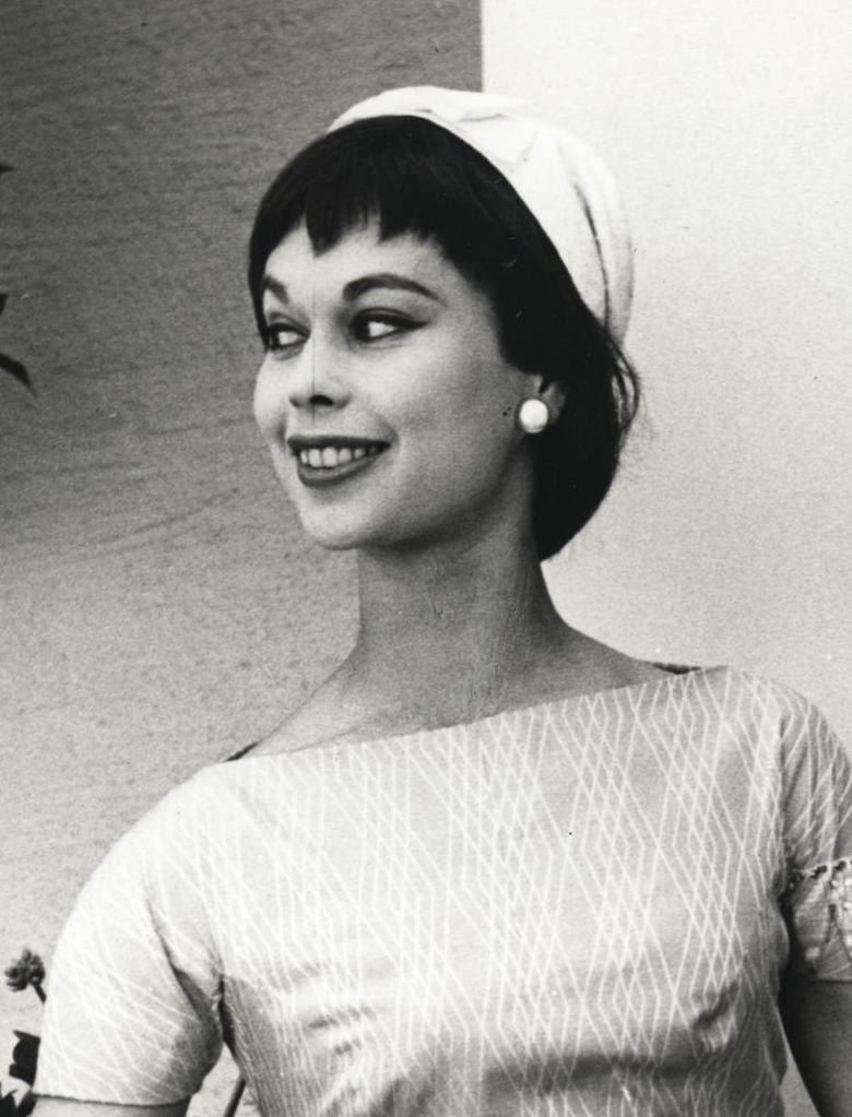 Gunilla Ponten, Fashion Photo by Lars Nordin-Nordin Nilson 1955 (cropped)