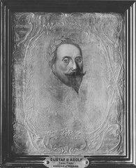 Gustav II Adolf (1594-1632), kung av Sverige, gift med Maria Eleonora av Brandenburg