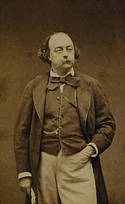 Photo Gustave Flaubert vers 1880
