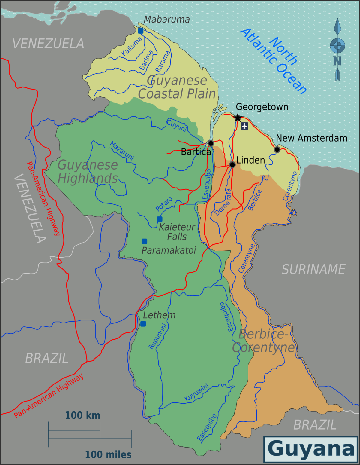 cities in suriname
