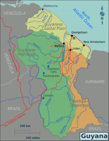Guyana Regions map.png