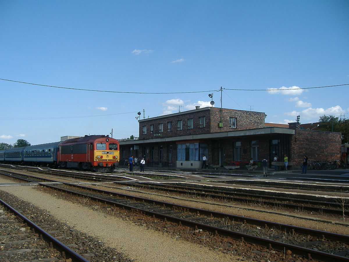 gyula vasútállomás térkép Gyula vasútállomás – Wikipédia gyula vasútállomás térkép