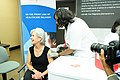 HHS Secretary Sebelius receives her flu shot while visiting a Walgreens in Chicago, IL on Wednesday October 5, 2011.jpg