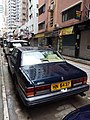 HK 西營盤 Sai Ying Pun 第三街 Third Street 勞斯萊斯銀靈 Silver Spirit blue HN5437 carpark August 2018 SSG 02.jpg