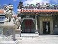 HK Cheung Chau Pak Tei Temple n Stone Lions 1.JPG