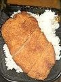 HK food 咖哩 curry 吉列豬排 deep-fried pork steak 盒飯 rice box February 2020 SS2 02.jpg