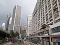 HK tram view Shek Tong Tsui to Sai Ying Pun Des Voeux Road West Sheung Wan Des Voeux Road Central September 2020 SS2 06.jpg