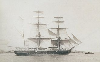 W. A. G. Young - Image: HMS Cruizer (1854)