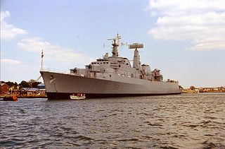 County-class destroyer British guided missile destroyer class