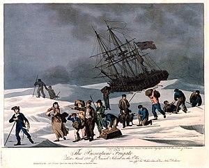 Neuwerk - Escape from HMS Proserpine to Neuwerk (1799)