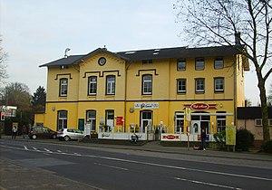 Gruiten station - Entrance building